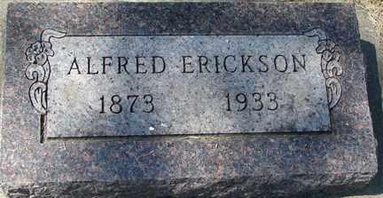 ERICKSON, ALFRED - Minnehaha County, South Dakota | ALFRED ERICKSON - South Dakota Gravestone Photos