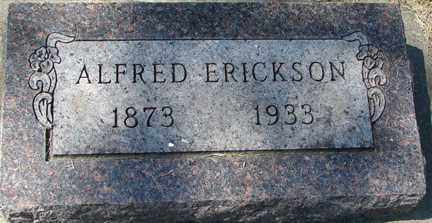 ERICKSON, ALFRED - Minnehaha County, South Dakota | ALFRED ERICKSON - South Dakota Gravestone Photos