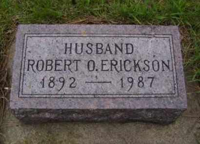 ERICKSON, ROBERT OSCAR - Minnehaha County, South Dakota | ROBERT OSCAR ERICKSON - South Dakota Gravestone Photos