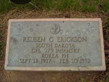 ERICKSON, REUBEN C. - Minnehaha County, South Dakota | REUBEN C. ERICKSON - South Dakota Gravestone Photos