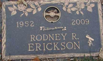 ERICKSON, RODNEY R. - Minnehaha County, South Dakota | RODNEY R. ERICKSON - South Dakota Gravestone Photos