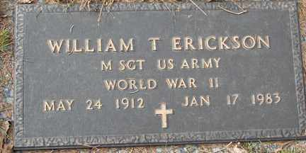 ERICKSON, WILLIAM T. (WWII) - Minnehaha County, South Dakota | WILLIAM T. (WWII) ERICKSON - South Dakota Gravestone Photos