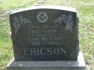 ERICSON, CARL OSCAR - Minnehaha County, South Dakota | CARL OSCAR ERICSON - South Dakota Gravestone Photos