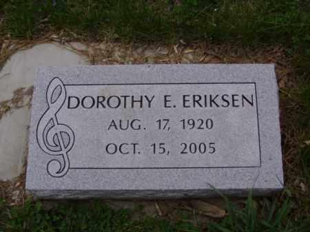 ERIKSEN, DOROTHY ELAINE - Minnehaha County, South Dakota | DOROTHY ELAINE ERIKSEN - South Dakota Gravestone Photos