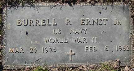 ERNST, BURRELL R. JR. - Minnehaha County, South Dakota | BURRELL R. JR. ERNST - South Dakota Gravestone Photos