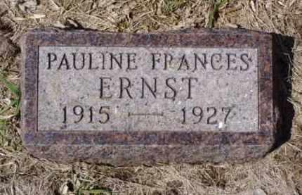 ERNST, PAULINE FRANCES - Minnehaha County, South Dakota | PAULINE FRANCES ERNST - South Dakota Gravestone Photos