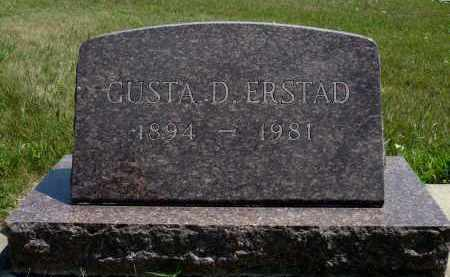 ERSTAD, GUSTA D. - Minnehaha County, South Dakota | GUSTA D. ERSTAD - South Dakota Gravestone Photos