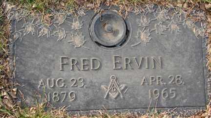 ERVIN, FRED - Minnehaha County, South Dakota | FRED ERVIN - South Dakota Gravestone Photos