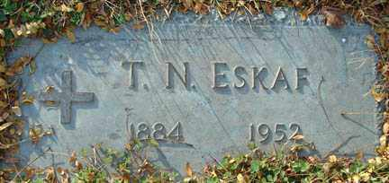 ESKAF, THEOPHILE NASSIF - Minnehaha County, South Dakota | THEOPHILE NASSIF ESKAF - South Dakota Gravestone Photos