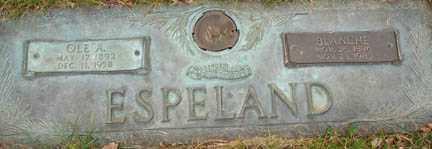AUSTIN ESPELAND, BLANCHE - Minnehaha County, South Dakota | BLANCHE AUSTIN ESPELAND - South Dakota Gravestone Photos