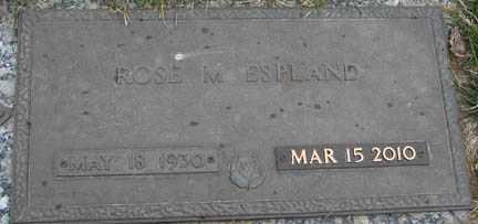 ESPLAND, ROSE MARIE - Minnehaha County, South Dakota   ROSE MARIE ESPLAND - South Dakota Gravestone Photos