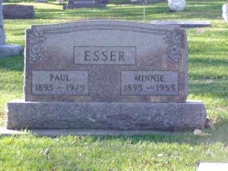 ESSER, PAUL - Minnehaha County, South Dakota | PAUL ESSER - South Dakota Gravestone Photos