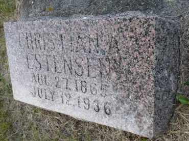 ESTENSEN, CHRISTIAN A. - Minnehaha County, South Dakota   CHRISTIAN A. ESTENSEN - South Dakota Gravestone Photos