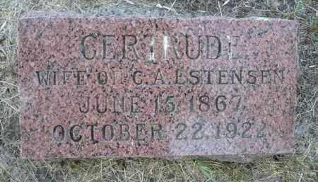ESTENSEN, GERTRUDE - Minnehaha County, South Dakota | GERTRUDE ESTENSEN - South Dakota Gravestone Photos