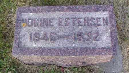 ESTENSEN, HOGINE - Minnehaha County, South Dakota | HOGINE ESTENSEN - South Dakota Gravestone Photos