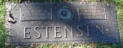 ESTENSEN, STANLEY J. - Minnehaha County, South Dakota | STANLEY J. ESTENSEN - South Dakota Gravestone Photos