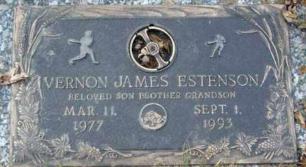 ESTENSON, VERNON JAMES - Minnehaha County, South Dakota | VERNON JAMES ESTENSON - South Dakota Gravestone Photos