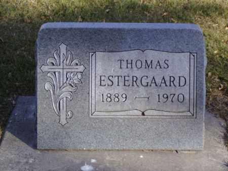 ESTERGAARD, THOMAS - Minnehaha County, South Dakota | THOMAS ESTERGAARD - South Dakota Gravestone Photos