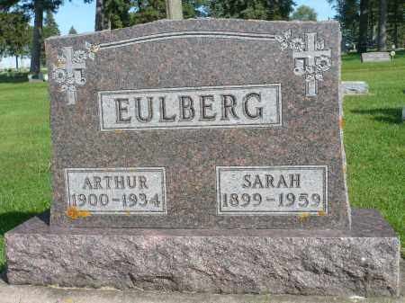 EULBERG, SARAH - Minnehaha County, South Dakota | SARAH EULBERG - South Dakota Gravestone Photos