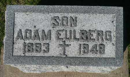 EULBERG, ADAM - Minnehaha County, South Dakota | ADAM EULBERG - South Dakota Gravestone Photos