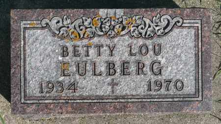 EULBERG, BETTY LOU - Minnehaha County, South Dakota | BETTY LOU EULBERG - South Dakota Gravestone Photos