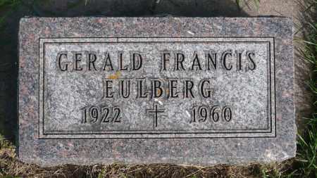 EULBERG, GERALD FRANCIS - Minnehaha County, South Dakota   GERALD FRANCIS EULBERG - South Dakota Gravestone Photos