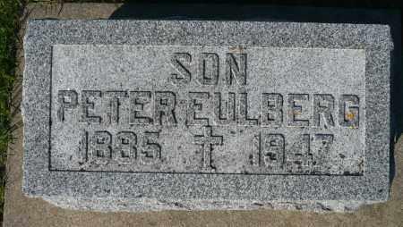 EULBERG, PETER - Minnehaha County, South Dakota | PETER EULBERG - South Dakota Gravestone Photos