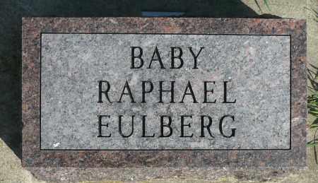 EULBERG, RAPHAEL - Minnehaha County, South Dakota | RAPHAEL EULBERG - South Dakota Gravestone Photos