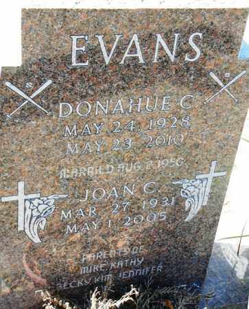 EVANS, JOAN C. - Minnehaha County, South Dakota | JOAN C. EVANS - South Dakota Gravestone Photos
