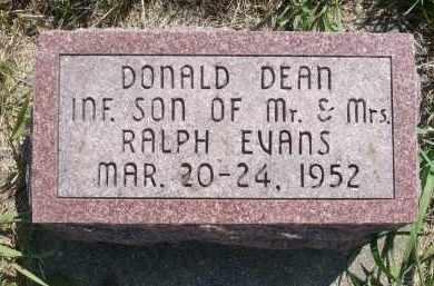 EVANS, DONALD DEAN - Minnehaha County, South Dakota | DONALD DEAN EVANS - South Dakota Gravestone Photos