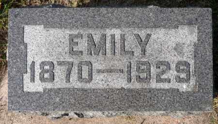 EVANS, EMILY - Minnehaha County, South Dakota | EMILY EVANS - South Dakota Gravestone Photos