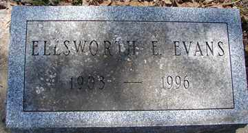 EVANS, ELLSWORTH E. - Minnehaha County, South Dakota | ELLSWORTH E. EVANS - South Dakota Gravestone Photos
