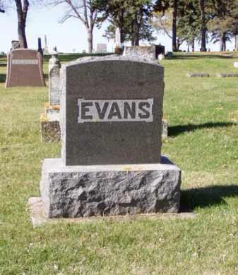 EVANS, FAMILY MARKER - Minnehaha County, South Dakota | FAMILY MARKER EVANS - South Dakota Gravestone Photos