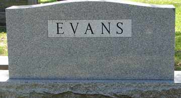 EVANS, FAMILY MARKER - Minnehaha County, South Dakota | FAMILY MARKER EVANS - South Dakota Gravestone Photos