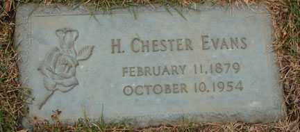 EVANS, H. CHESTER - Minnehaha County, South Dakota | H. CHESTER EVANS - South Dakota Gravestone Photos