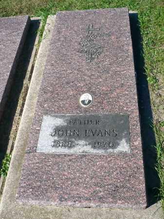 EVANS, JOHN - Minnehaha County, South Dakota | JOHN EVANS - South Dakota Gravestone Photos