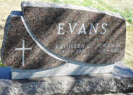 EVANS, OWEN D. - Minnehaha County, South Dakota | OWEN D. EVANS - South Dakota Gravestone Photos