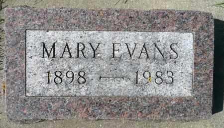 EVANS, MARY - Minnehaha County, South Dakota | MARY EVANS - South Dakota Gravestone Photos