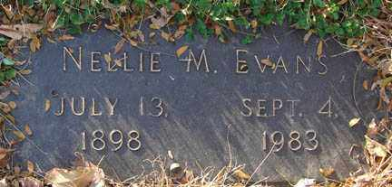 EVANS, NELLIE M. - Minnehaha County, South Dakota | NELLIE M. EVANS - South Dakota Gravestone Photos