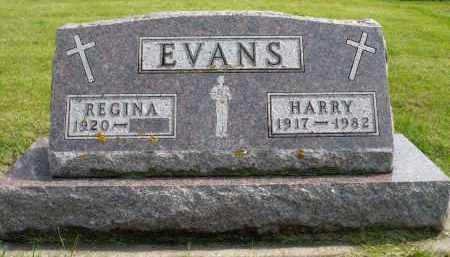 EVANS, REGINA - Minnehaha County, South Dakota | REGINA EVANS - South Dakota Gravestone Photos