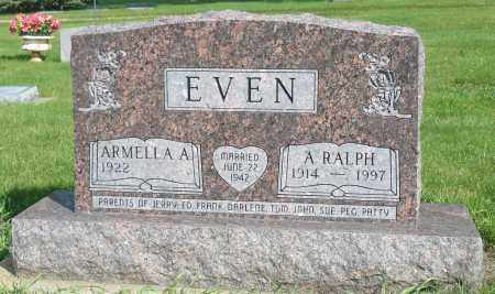 EVEN, ARMELLA A. - Minnehaha County, South Dakota | ARMELLA A. EVEN - South Dakota Gravestone Photos