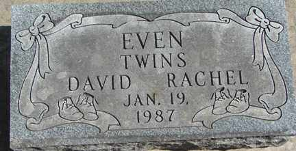 EVEN, RACHEL - Minnehaha County, South Dakota   RACHEL EVEN - South Dakota Gravestone Photos