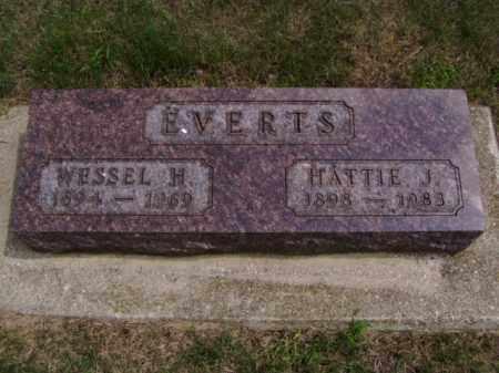 EVERTS, HATTIE J. - Minnehaha County, South Dakota | HATTIE J. EVERTS - South Dakota Gravestone Photos