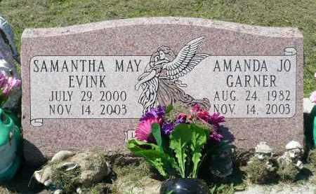 EVINK, SAMANTHA MAY - Minnehaha County, South Dakota | SAMANTHA MAY EVINK - South Dakota Gravestone Photos