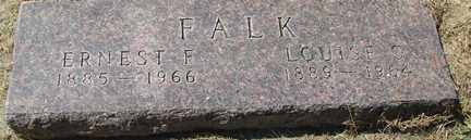 FALK, LOUISE - Minnehaha County, South Dakota | LOUISE FALK - South Dakota Gravestone Photos