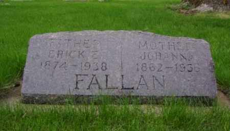 HOVEY FALLAN, JOHANNA RIAN - Minnehaha County, South Dakota | JOHANNA RIAN HOVEY FALLAN - South Dakota Gravestone Photos