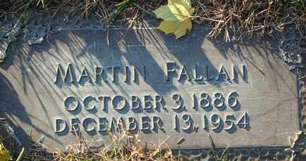 FALLAN, MARTIN - Minnehaha County, South Dakota   MARTIN FALLAN - South Dakota Gravestone Photos