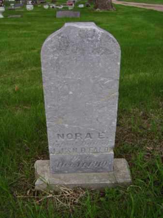 FALON, NORA E. - Minnehaha County, South Dakota | NORA E. FALON - South Dakota Gravestone Photos
