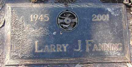 FANNING, LARRY J. - Minnehaha County, South Dakota | LARRY J. FANNING - South Dakota Gravestone Photos