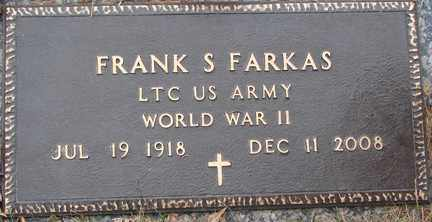 FARKAS, FRANK S. (WWII) - Minnehaha County, South Dakota | FRANK S. (WWII) FARKAS - South Dakota Gravestone Photos